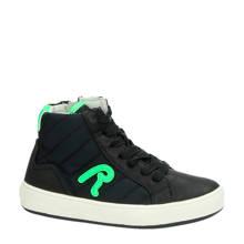 textielen sneakers zwart