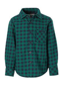 Palomino geblokt overhemd groen