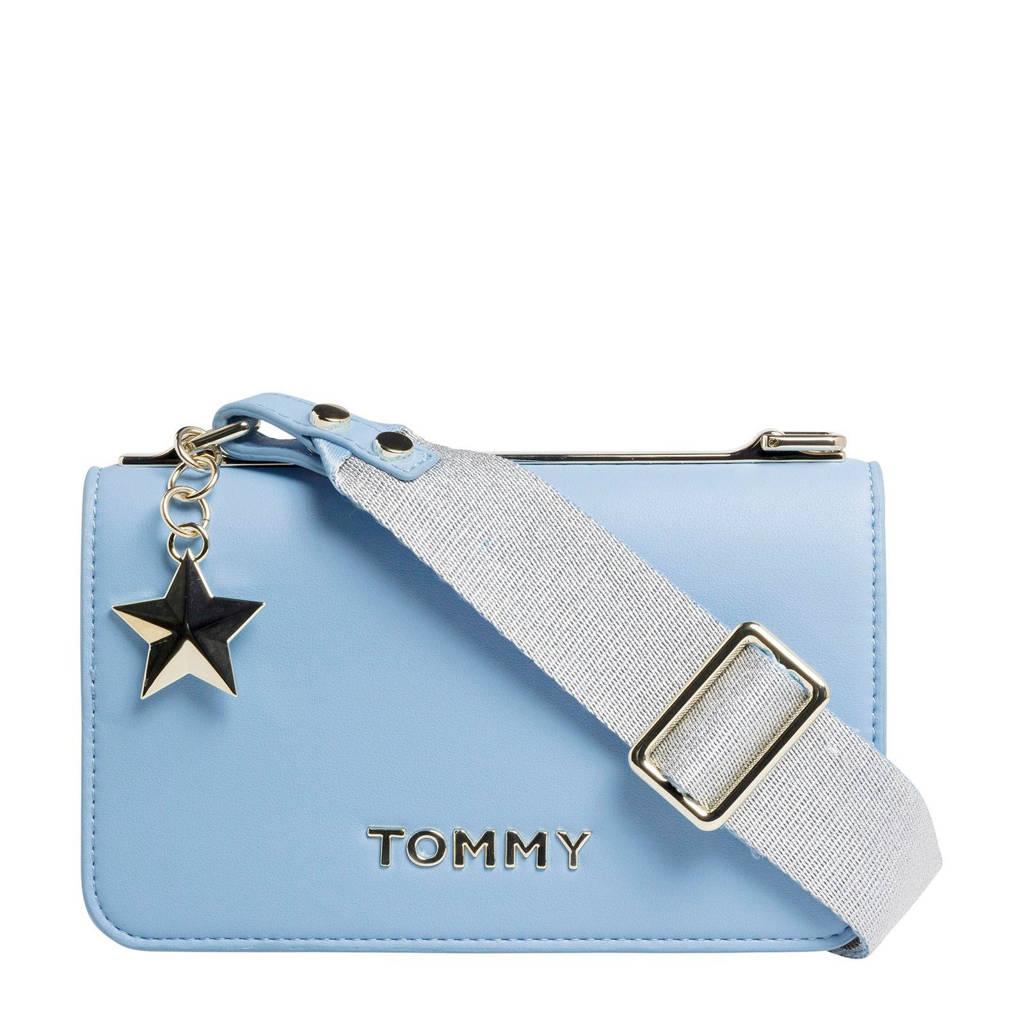 Tommy Hilfiger   crossbody tas lichtblauw, Lichtblauw