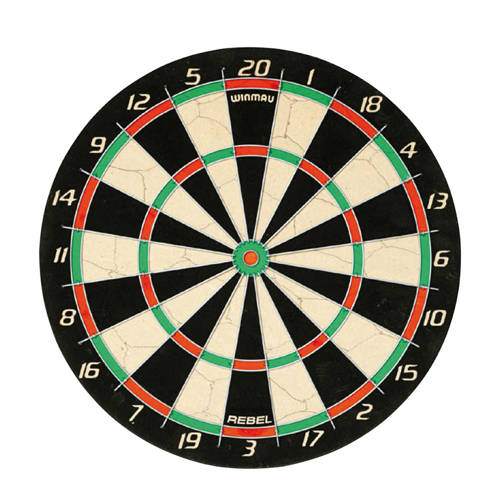 Winmau rebel dartbord kopen