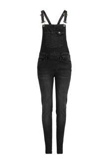 jeans tuinbroek Karol grijs