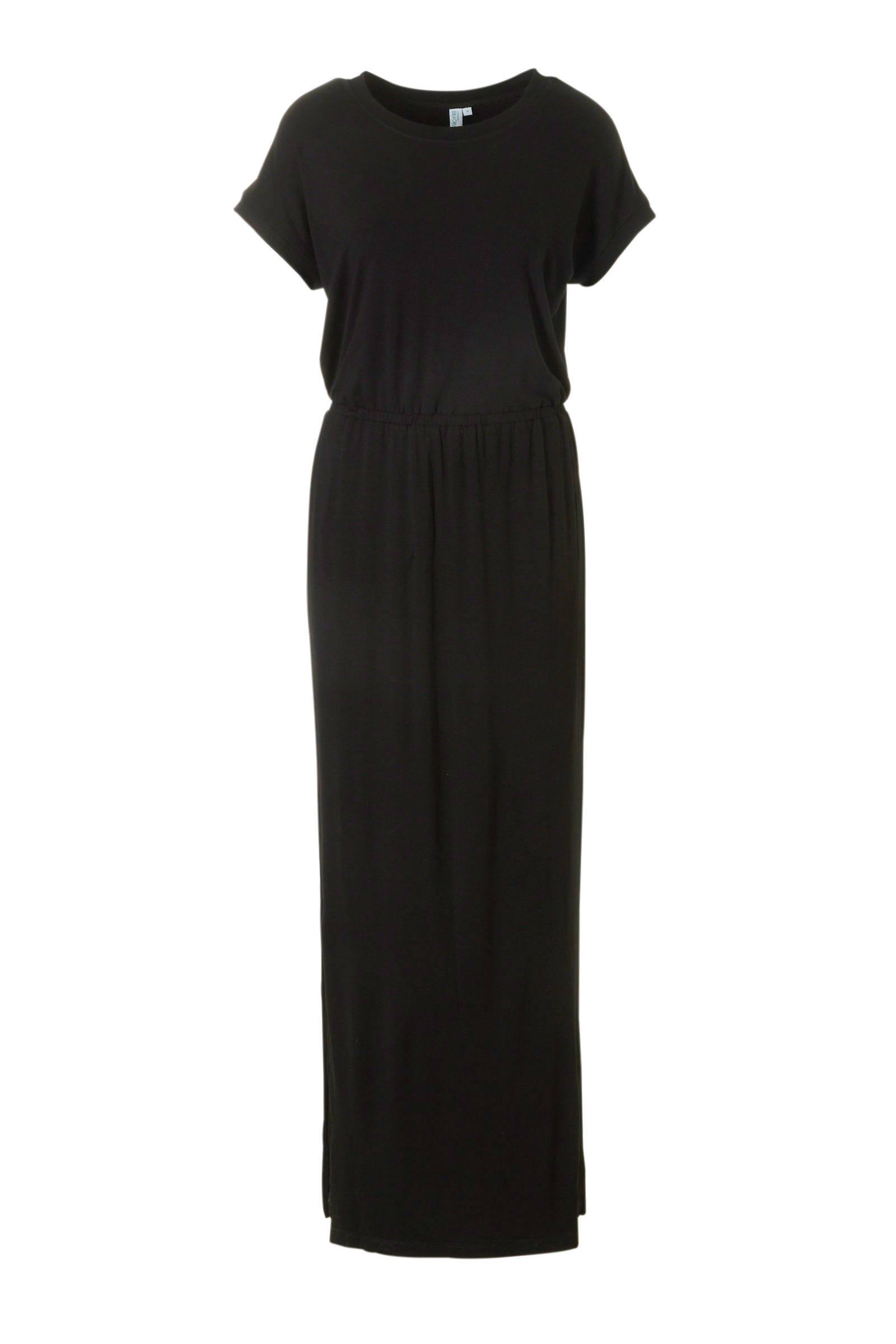 zwarte maxi jurk
