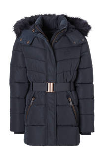 C&A Here & There winterjas donkerblauw (meisjes)