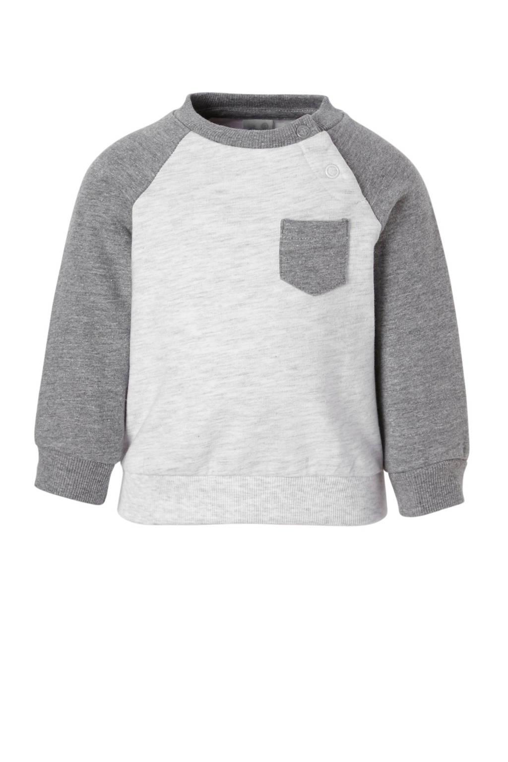 C&A Baby Club baby sweater grijs, Grijs