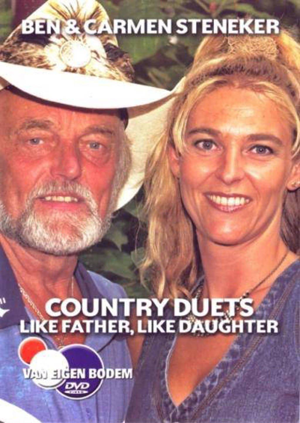 Ben & Carmen Steneker - Like Father, Like Daughter (DVD)