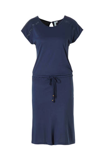 viscose jurk met kant