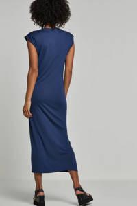 whkmp's beachwave jersey jurk donkerblauw, Donkerblauw