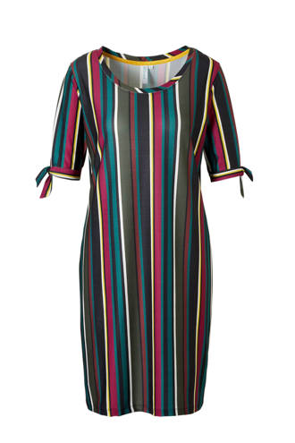 jurk met streepprint