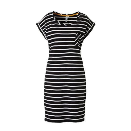 whkmp's beachwave katoenen jurk met streep kopen