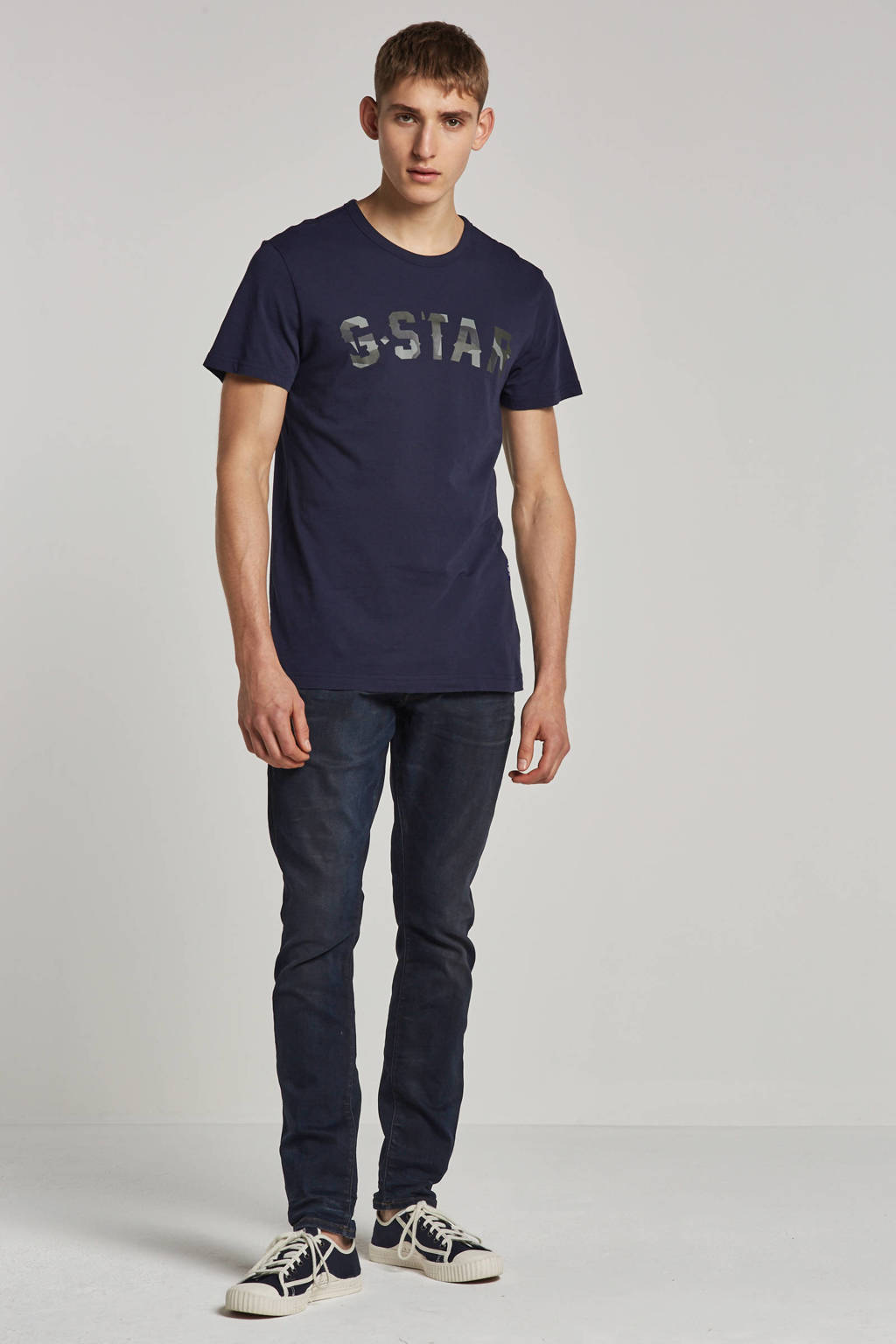 G-Star RAW T-shirt, Donkerblauw