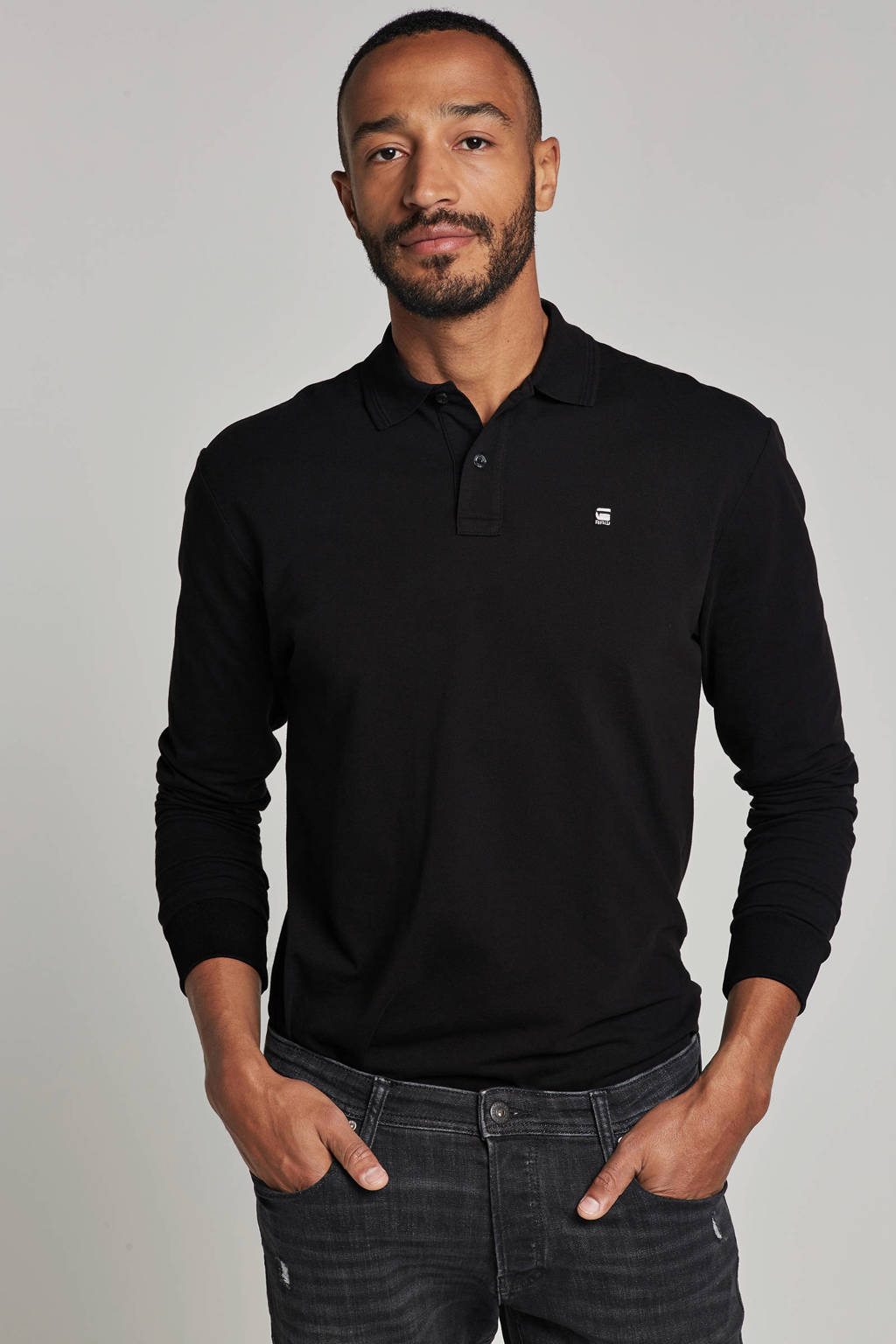 G-Star RAW polo, Zwart