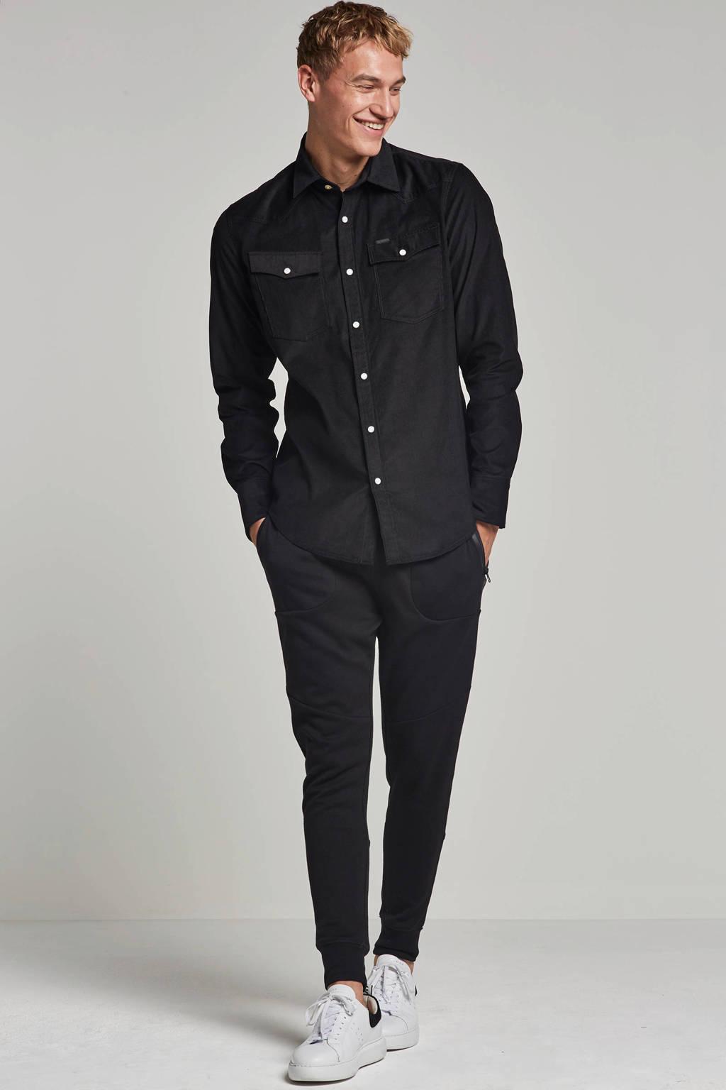 G-Star RAW slim fit overhemd, Zwart
