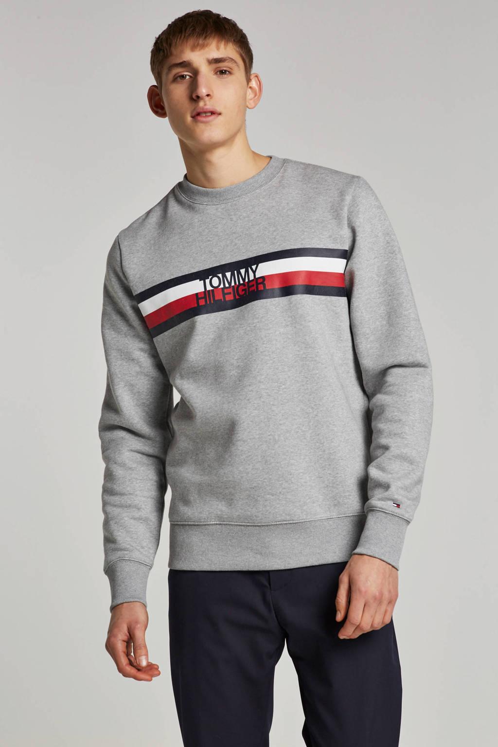 Tommy Hilfiger sweater, Grijs melange