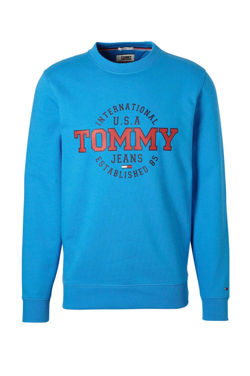 Tommy Jeans sweater, Blauw