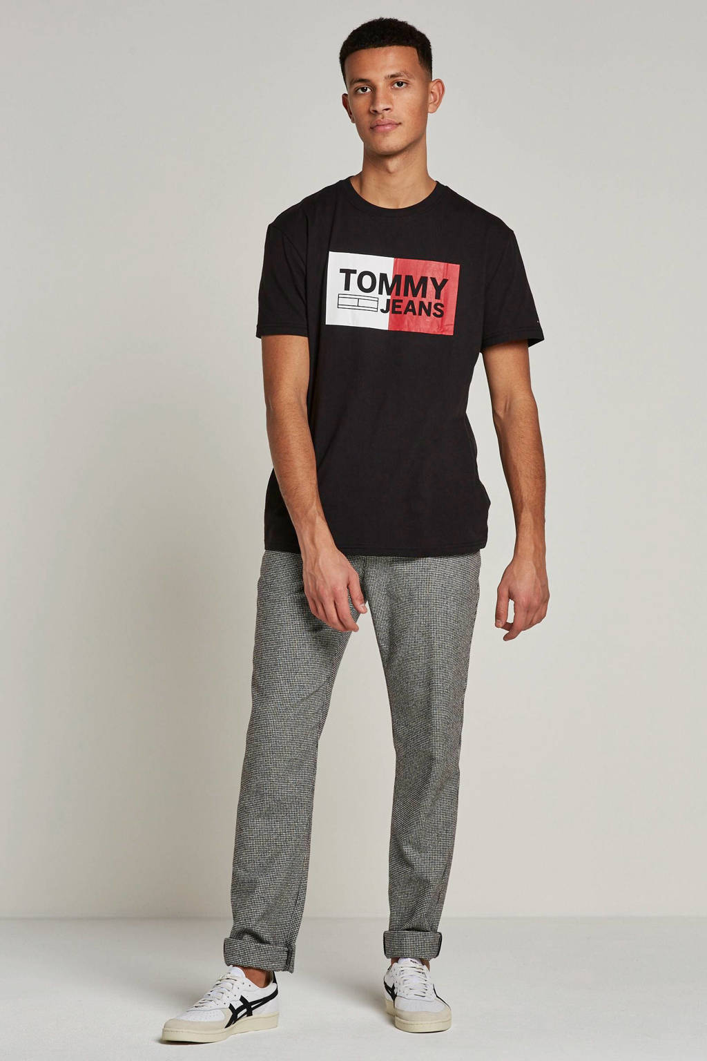 Tommy Jeans T-shirt, Zwart