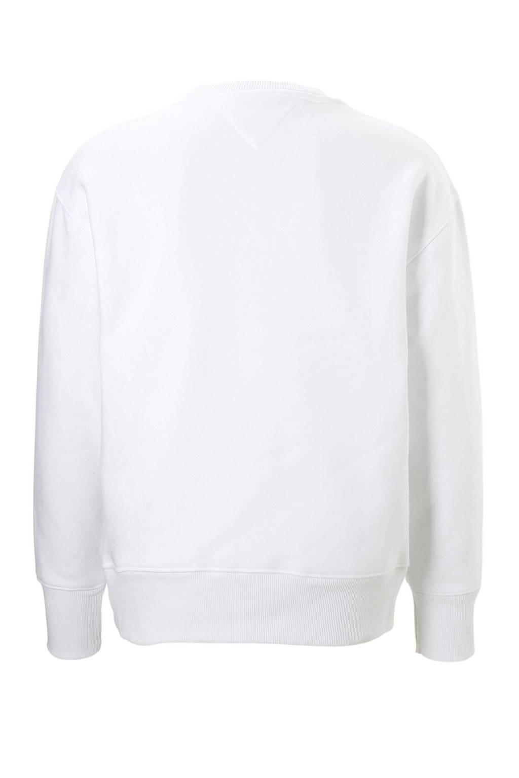 Tommy Jeans sweater Collegiate, Wit