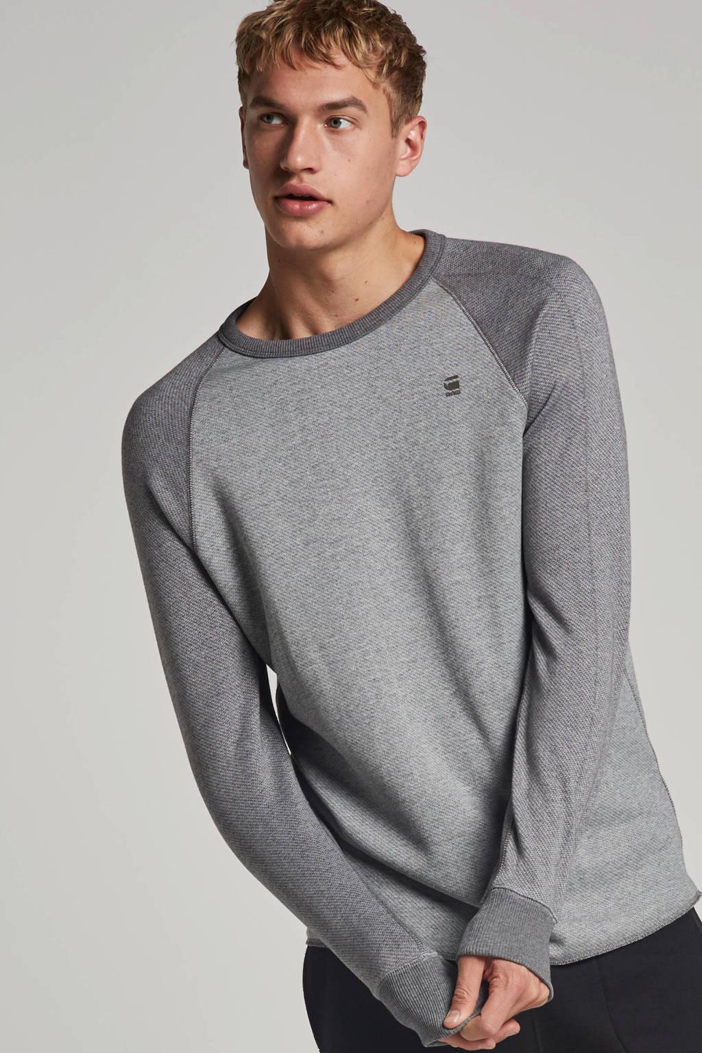 G-Star RAW sweater, Grijs melange