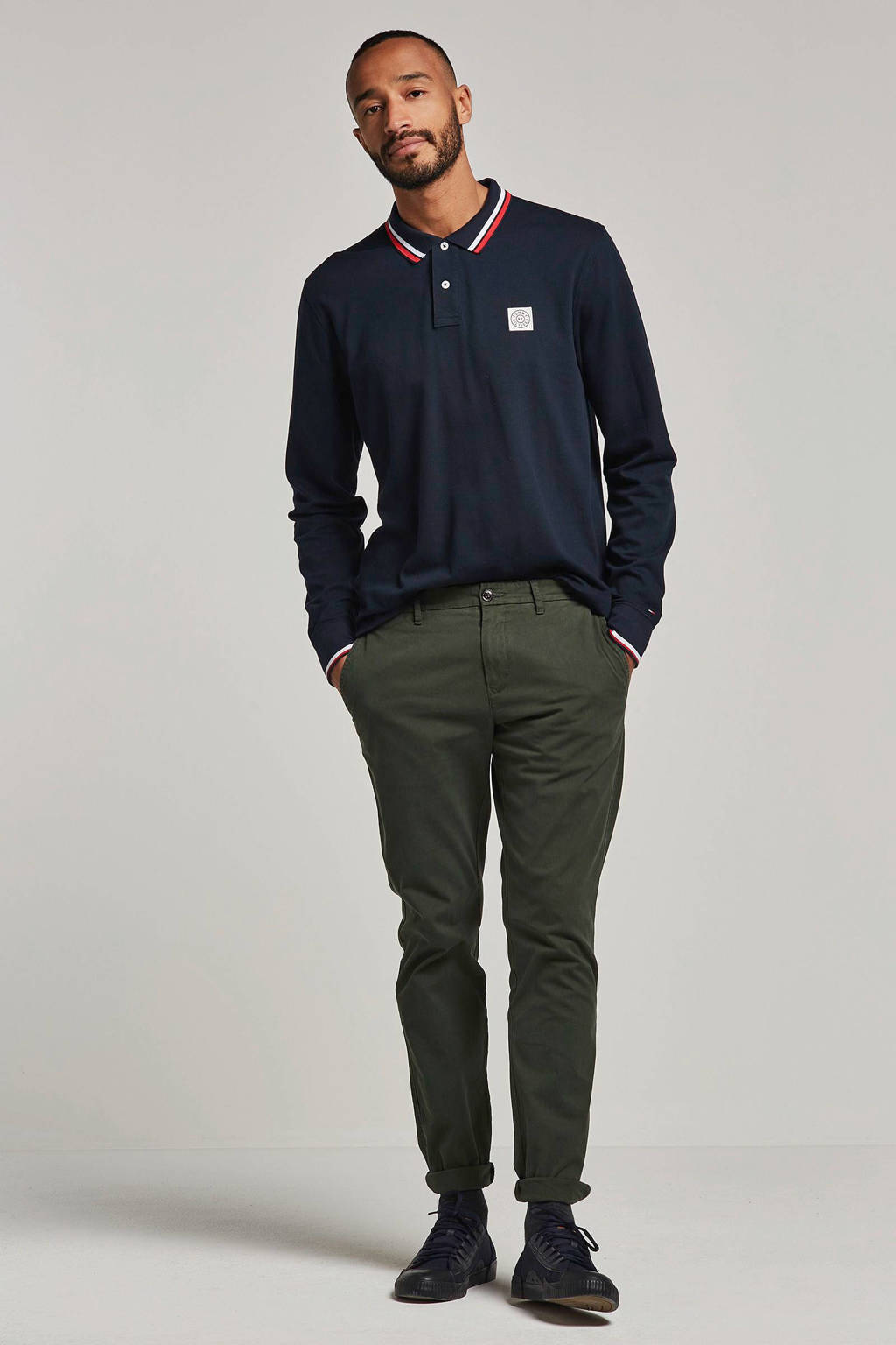 Tommy Hilfiger polo, Donkerblauw
