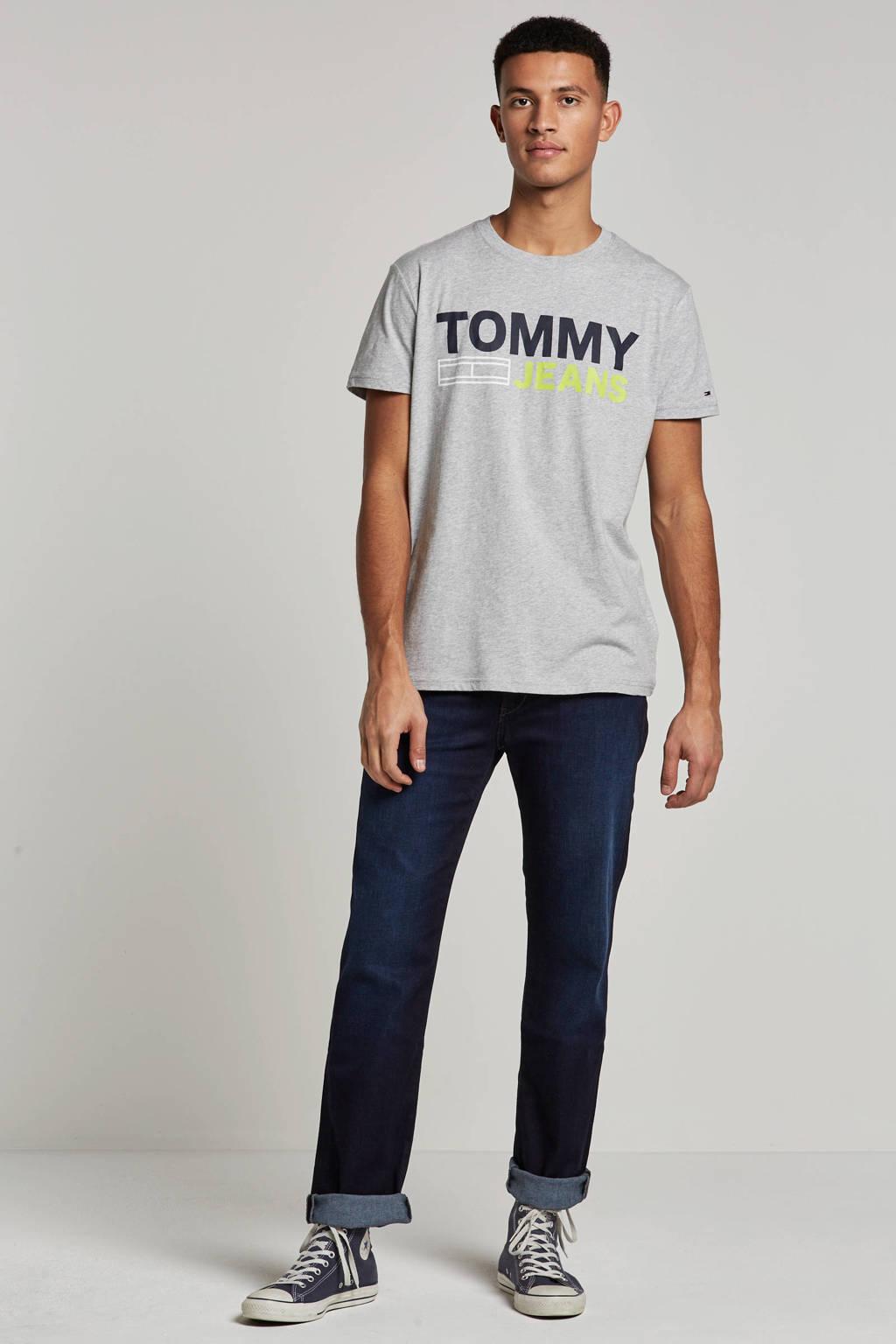 Tommy Jeans T-shirt, Grijs melange