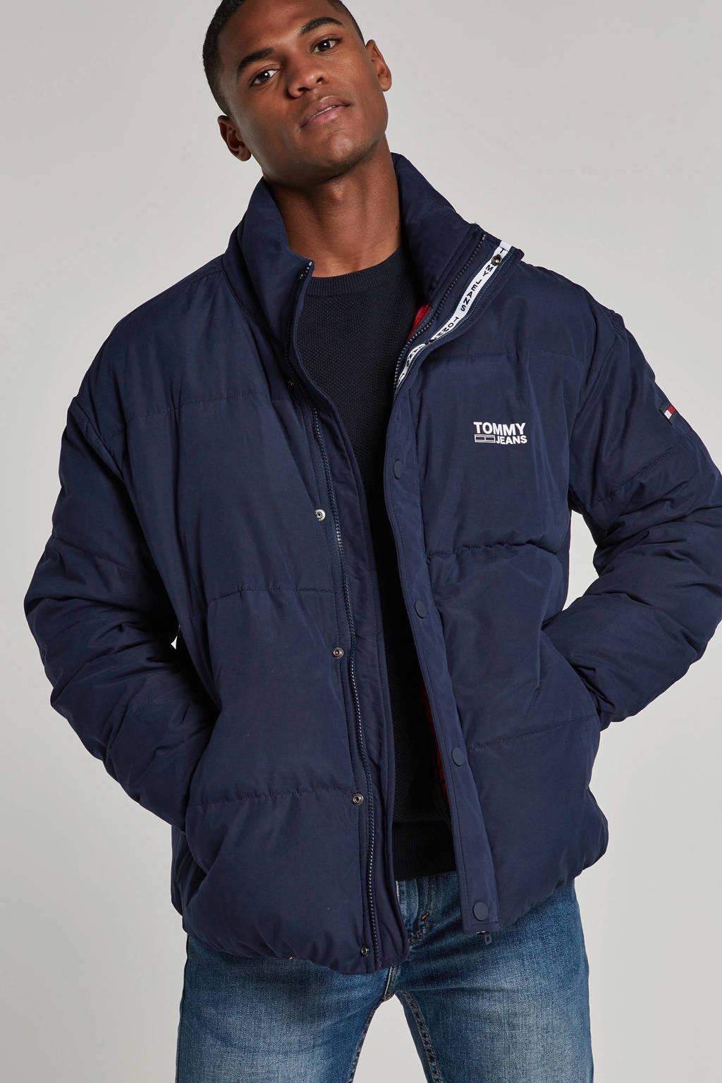Tommy Jeans winterjas marine, Marine
