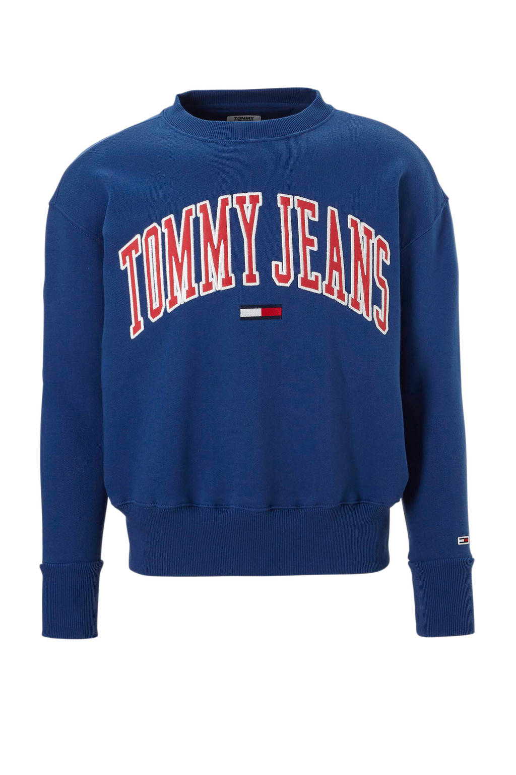 Tommy Jeans sweater Collegiate, Blauw
