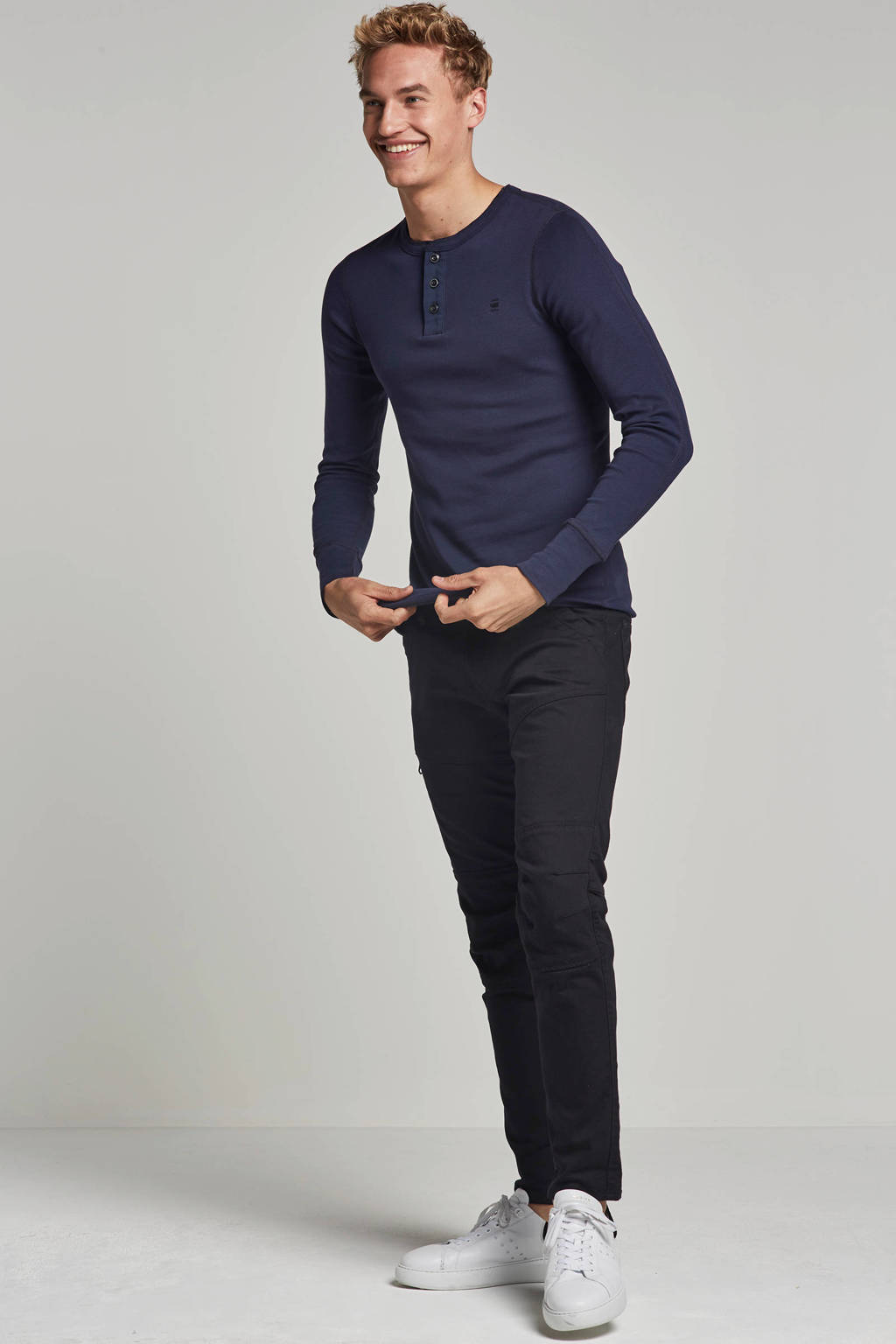 G-Star RAW Rackam regular fit jeans, Zwart