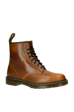 1460 8 eye boot leren enkelboots bruin