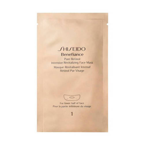 Shiseido Benefiance Pure Retinol Intensive Revitalizing Face Mask Masker 4 ml