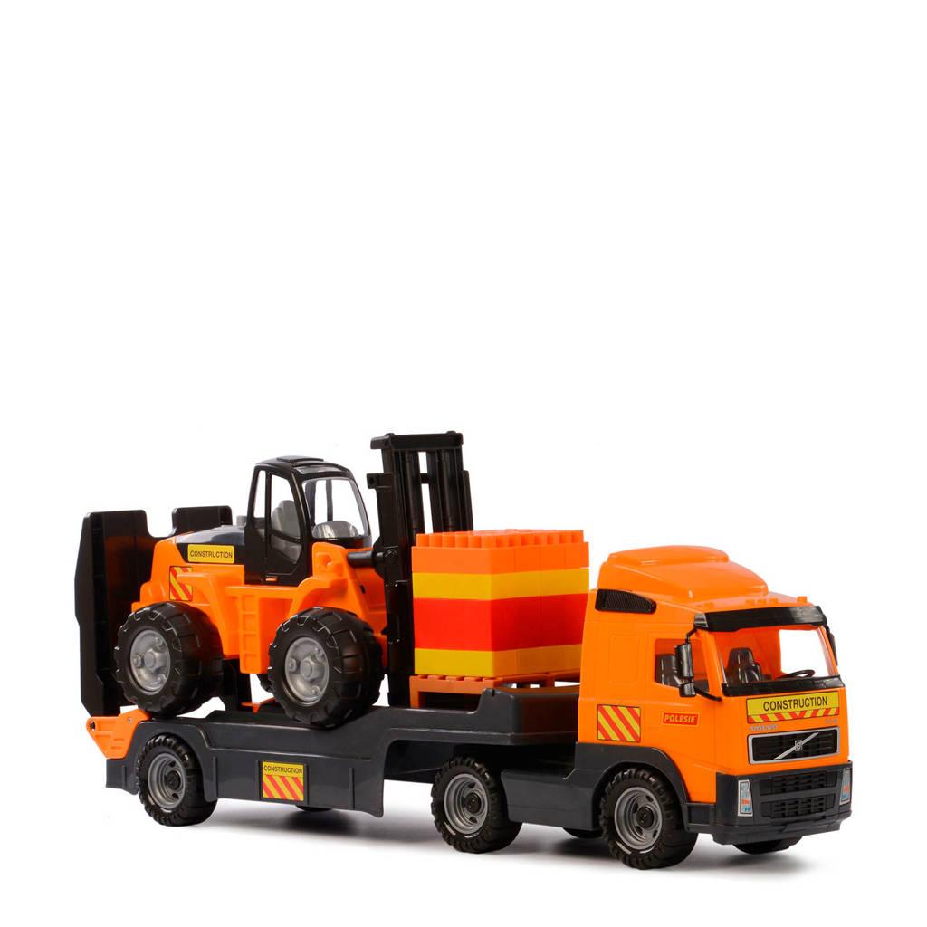 Polesie  Volvo vrachtwagen met heftruck