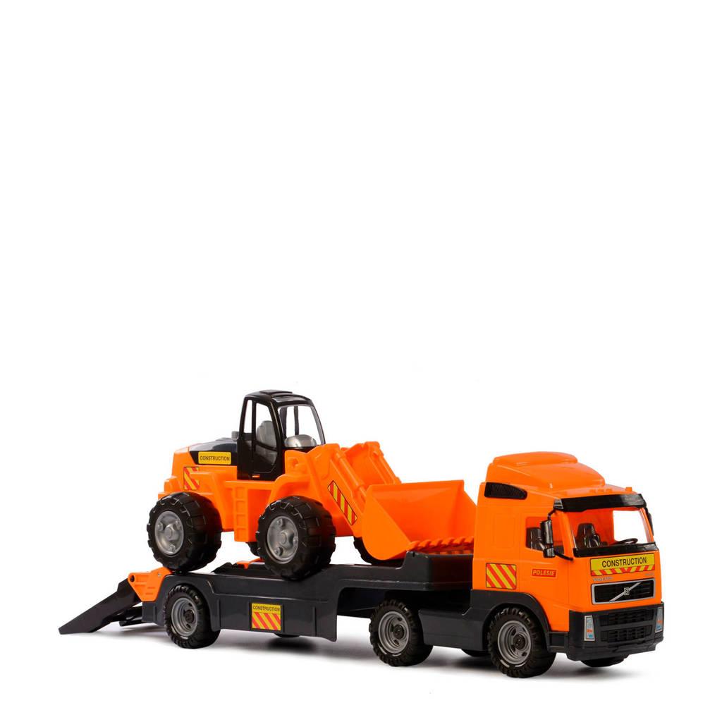 Polesie  Volvo vrachtwagen met graafmachine