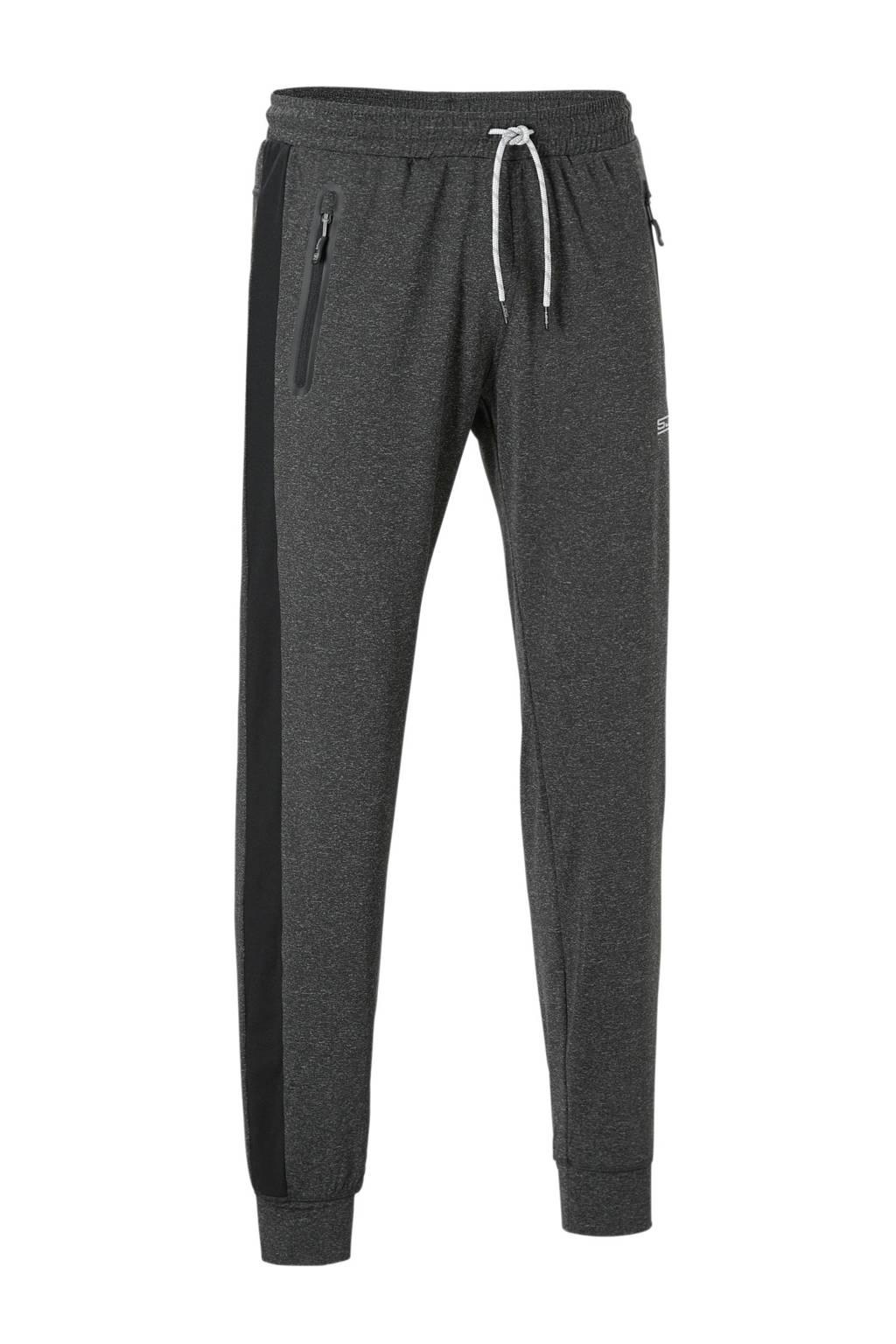 Sjeng Sports   broek, Antraciet/zwart