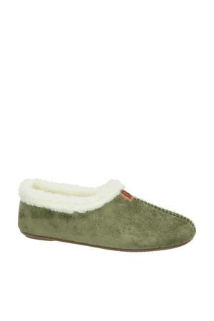 pantoffels groen