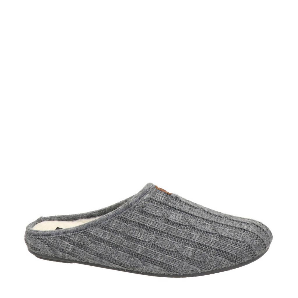 Nortenas gemêleerde pantoffels grijs, Grijs