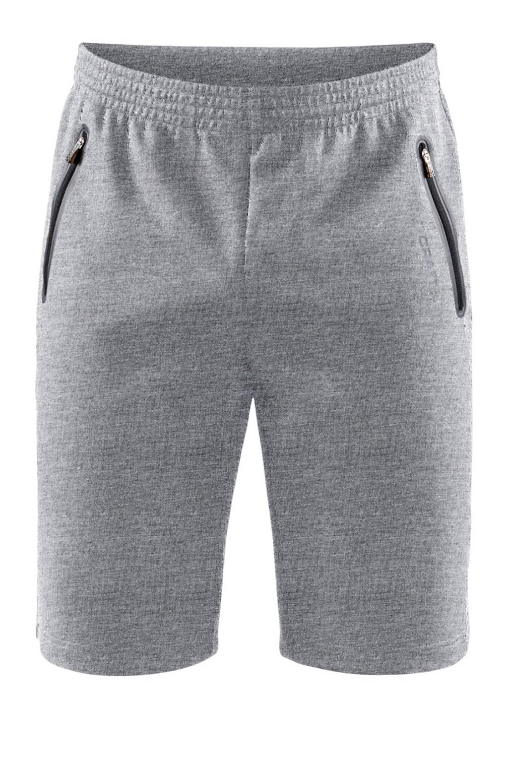 Craft   sportshort grijs, Grijs melange