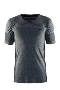 Craft   sport T-shirt grijs melange, Grijs melange