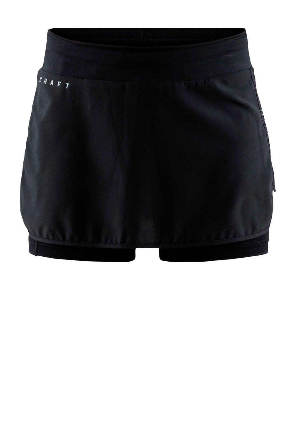 Craft sportrokje zwart, Zwart