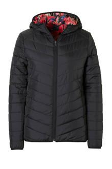 omkeerbare jas zwart