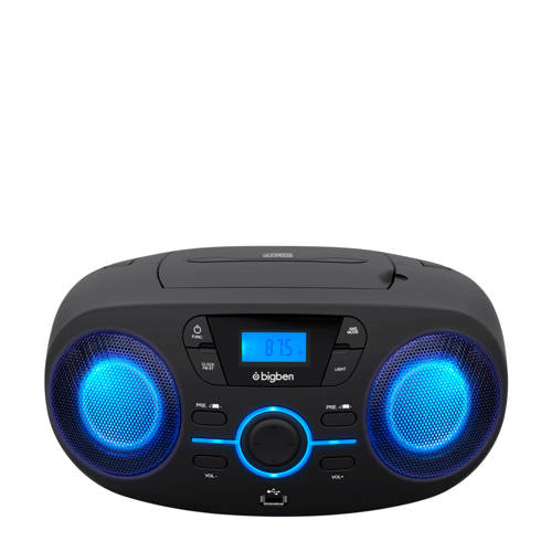 Bigben Interactive CD61NUSB Portable CD player Zwart cd-speler