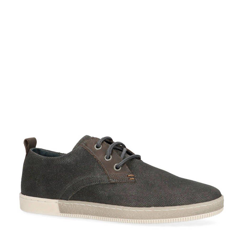 Manfield  sneakers grijs, Grijs