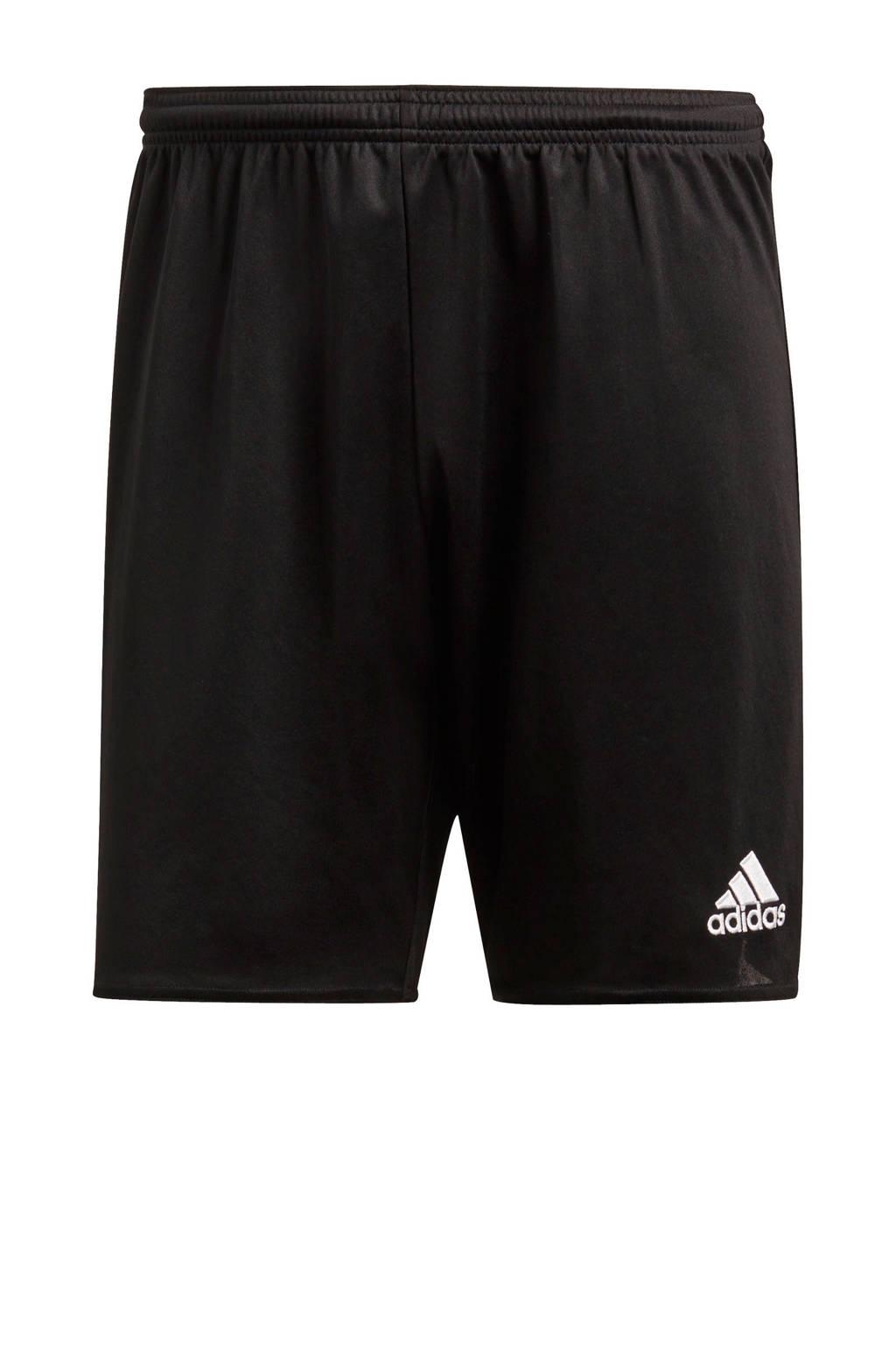 adidas Performance   sportshort Parma zwart, Zwart