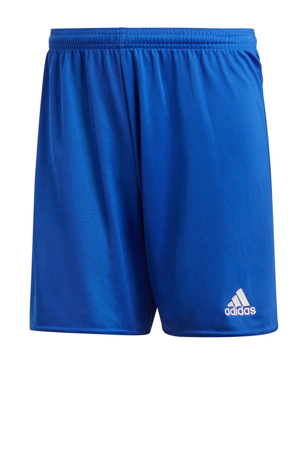adidas Performance   sportshort Parma blauw, Blauw