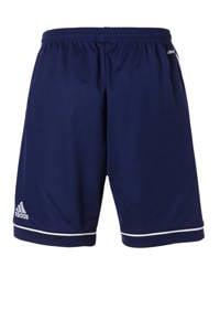 adidas   sportshort Squad donkerblauw/wit, Donkerblauw/wit