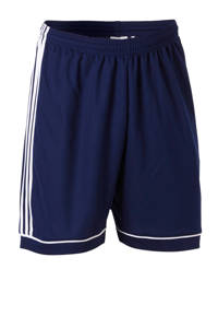 adidas Performance   sportshort Squad donkerblauw/wit, Donkerblauw/wit