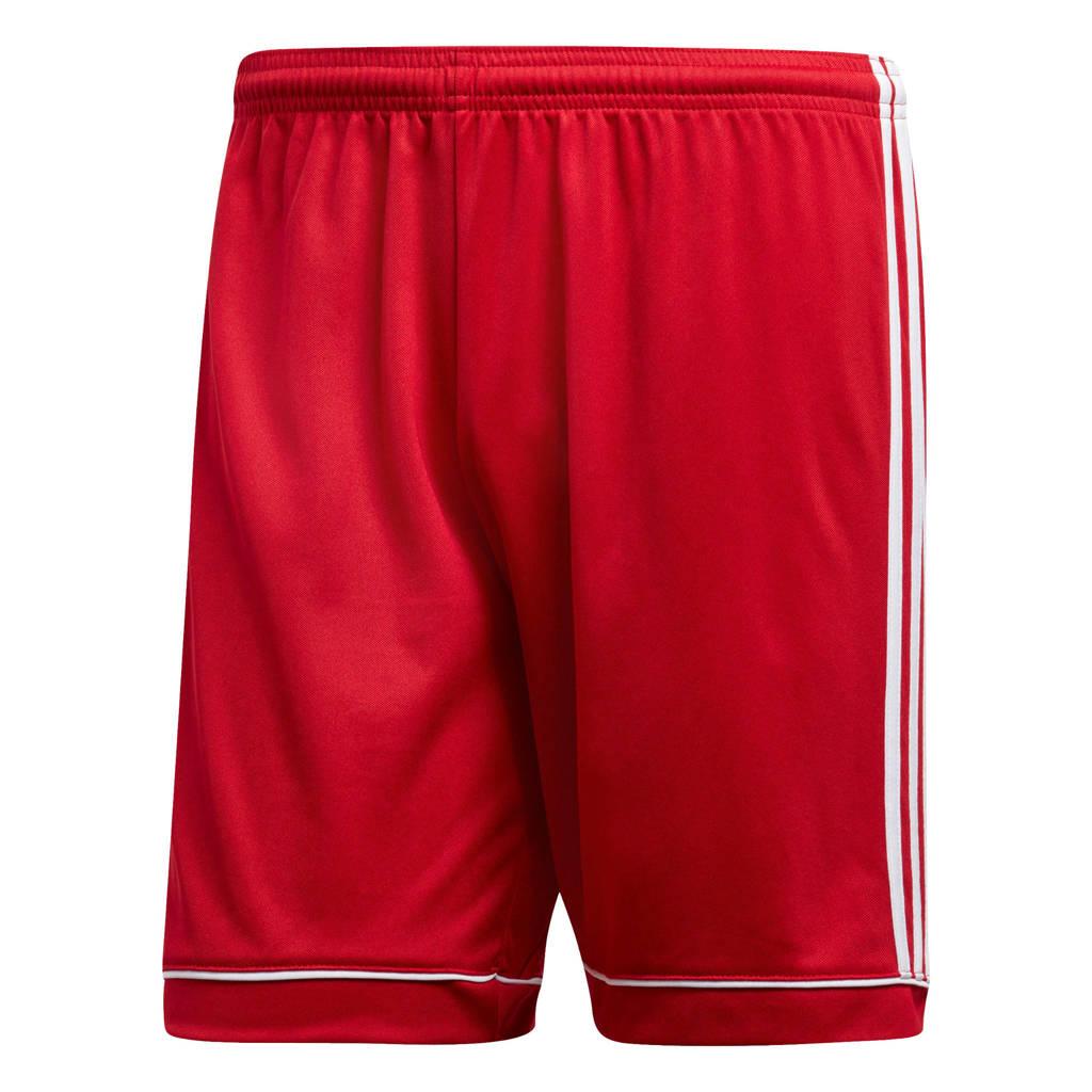 adidas performance   sportshort Squad rood/wit, Rood/wit
