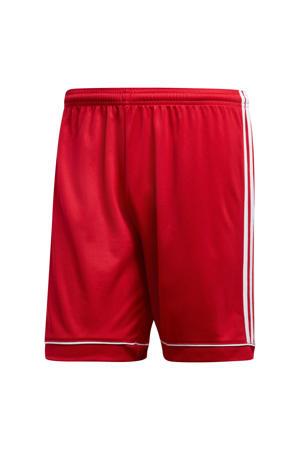sportshort Squad rood/wit