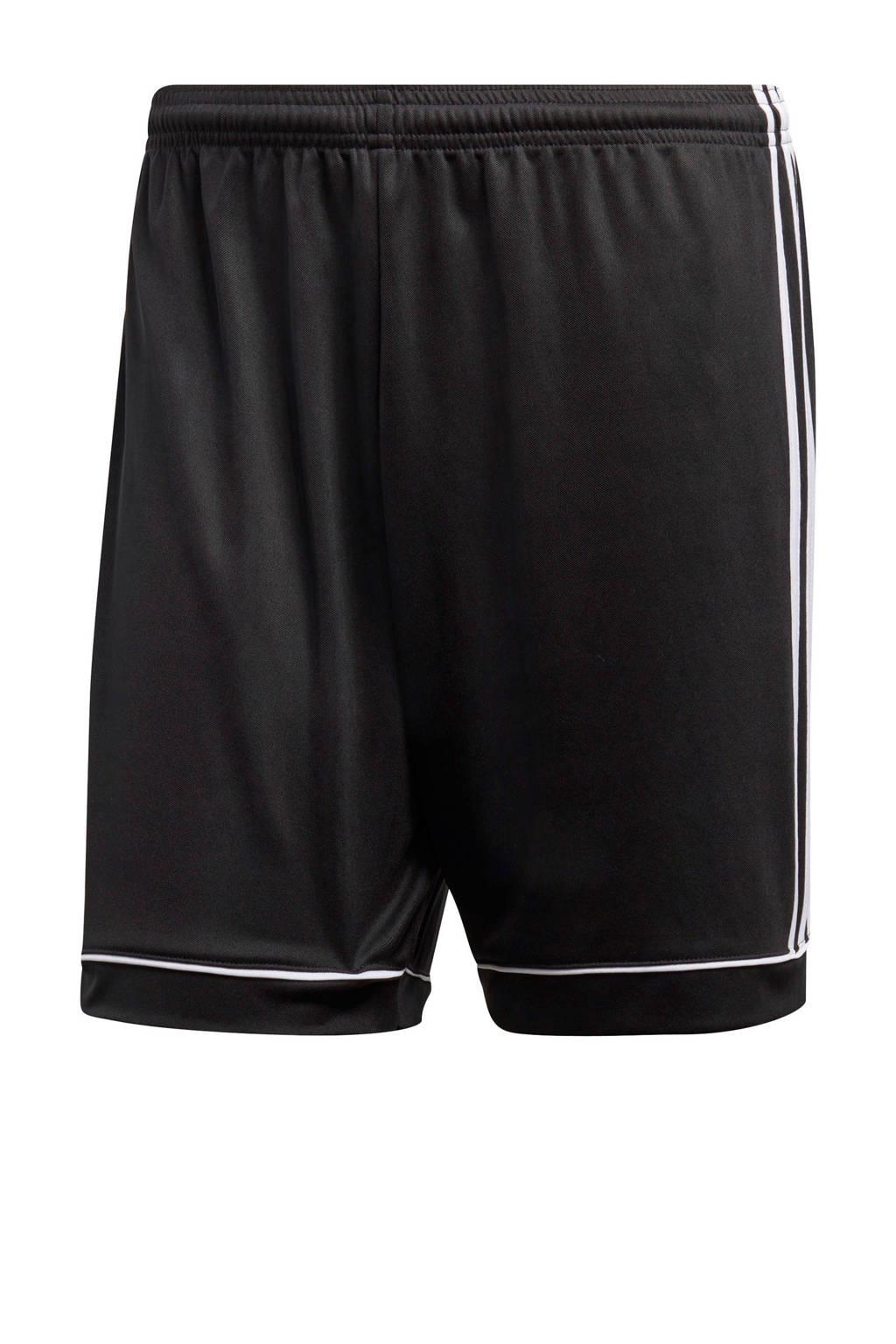 adidas performance   sportshort Squad zwart/wit, Zwart/wit