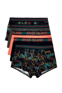 River Island Big & Tall boxershorts (set van 5) (heren)