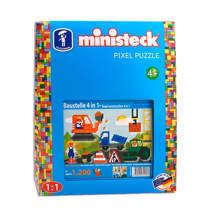 Ministeck bouwterrein 4-in-1