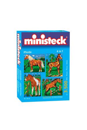 paarden met achtergrond 4-in-1