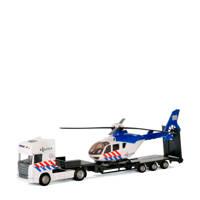 Polesie  vrachtwagen met helikopter - politie